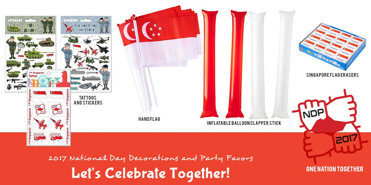 2017 NDP Party Supplies Singapore