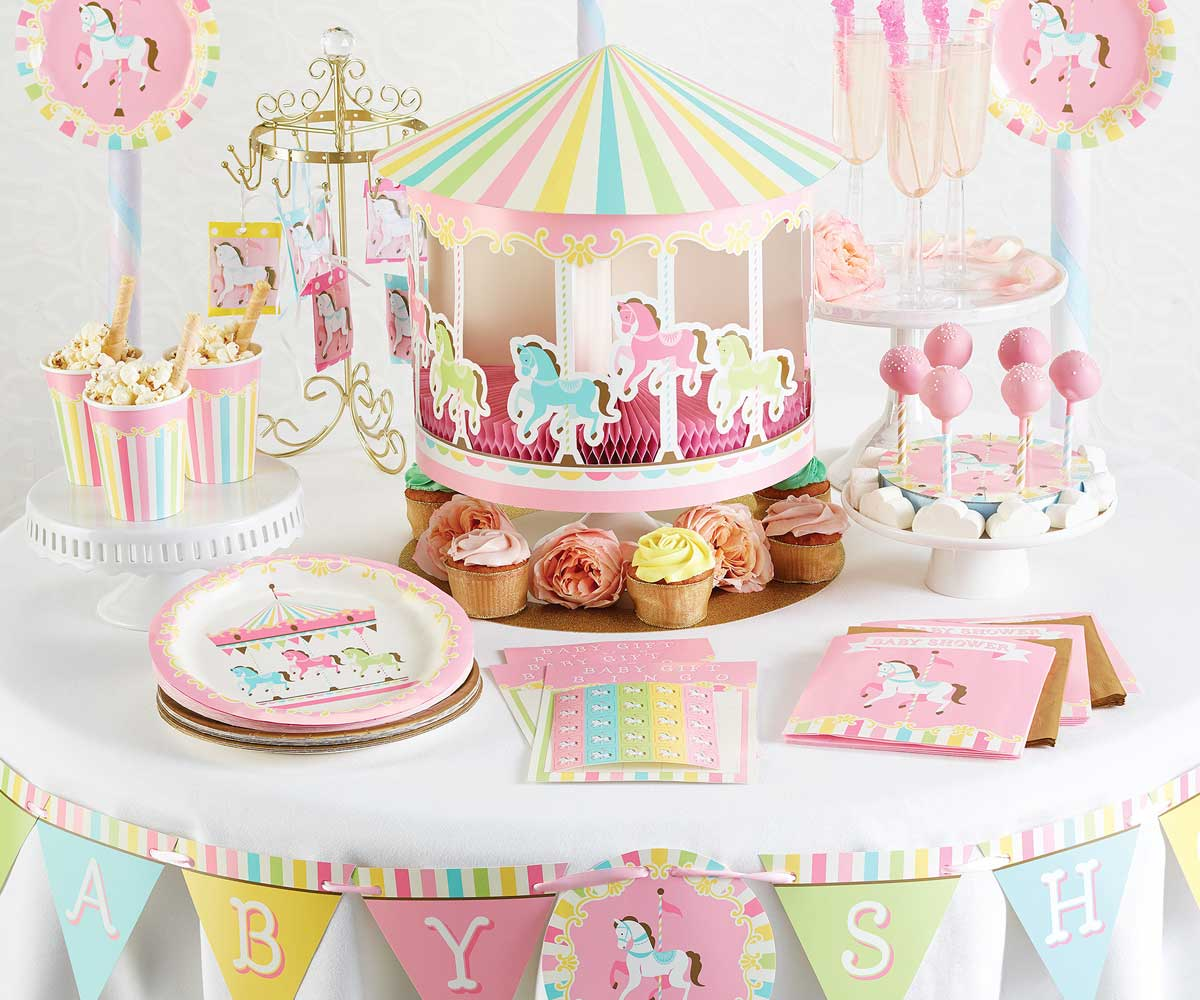 Carousel Party Supplies