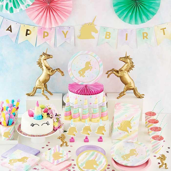 Unicorn Sparkle Party Supplies